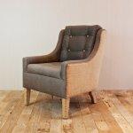 fotel z tapicerką
